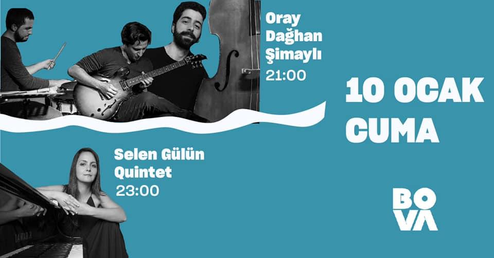 Oray/Dağhan/Şimaylı & Selen Gülün Quintet
